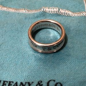 Tiffany & Co 1837 Ring - Sterling Silver